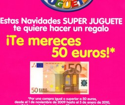 superjuguete regala 50 €