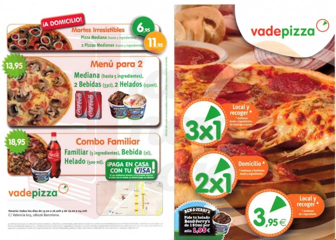 Carta Vadepizza