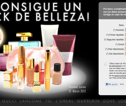 kit cosmeticos gratis
