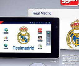 El tablet del Real Madrid en promocion con el periodico As
