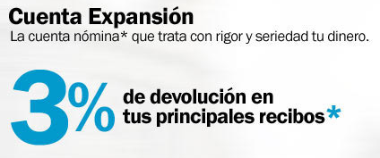 cuenta expansion