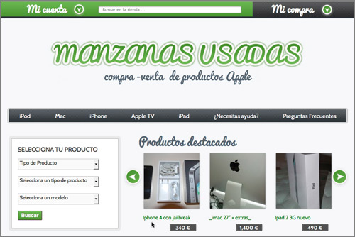 Manzanas Usadas Iphone