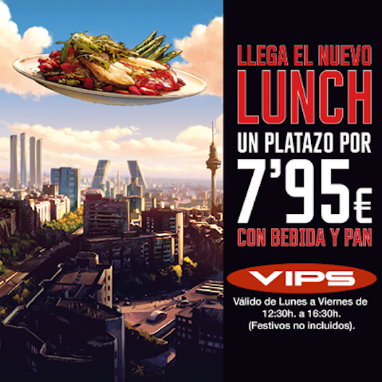 lunch VIPS
