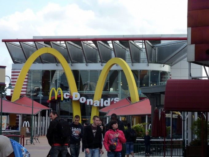 restaurante mc donalds
