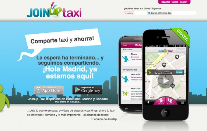 web join up taxi
