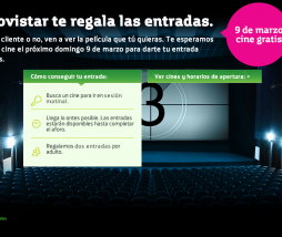 cine gratis Movistar